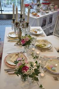 Bordsdekoration bröllop